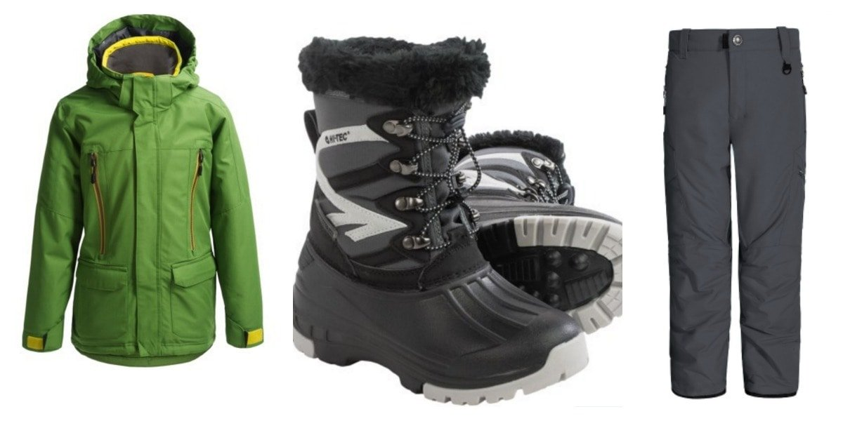 Boys Cold Weather Gear from Sierra Trading Post