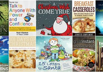Lots of FREE Holiday Kindle Books 12/6!