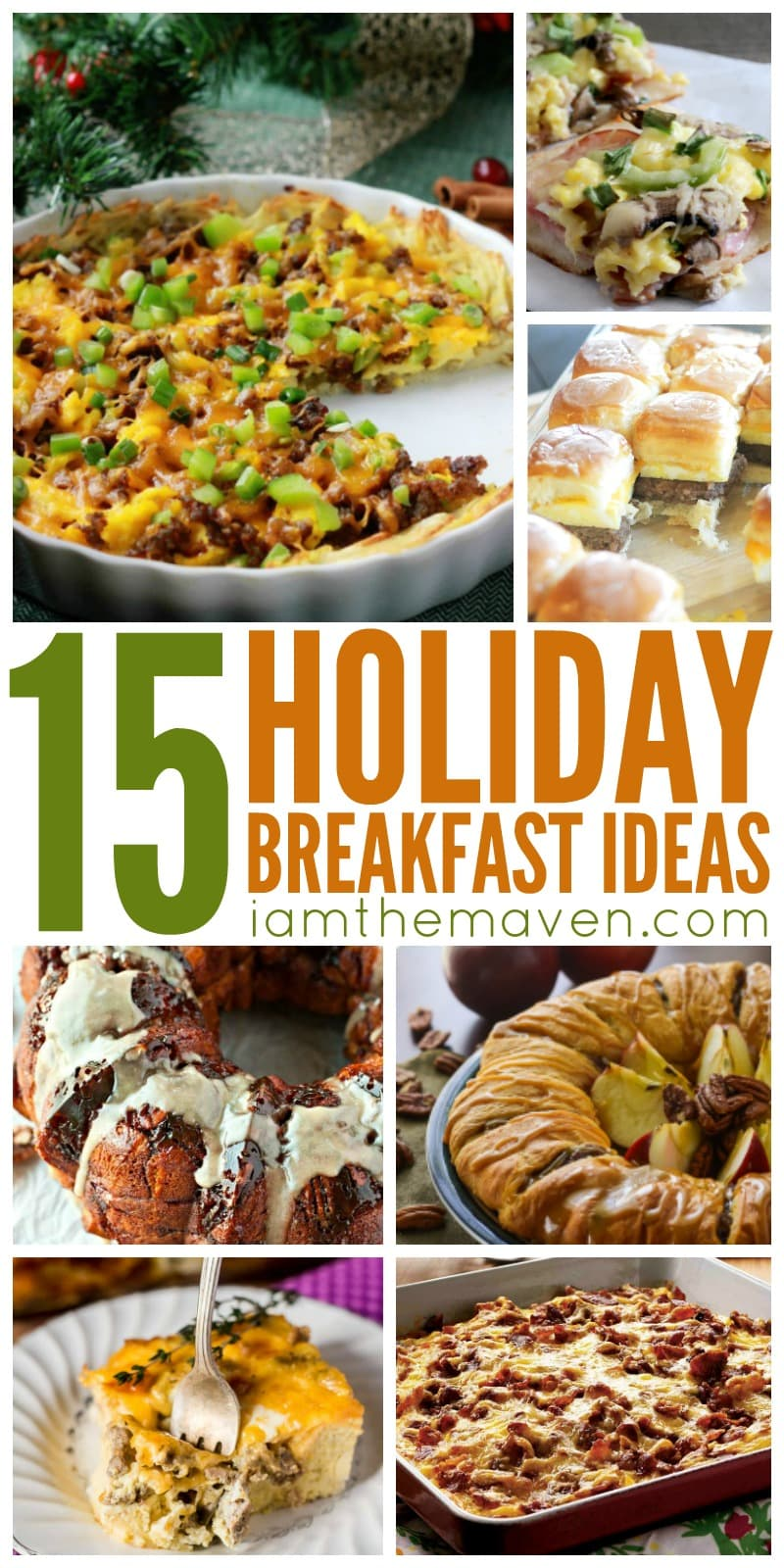 These holiday breakfast ideas are perfect for your family or a crowd!