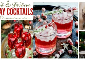 Is it time for holiday cocktails? Yes, yes it is!