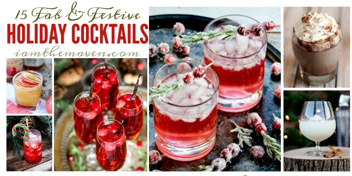 Is it time for holiday cocktails?