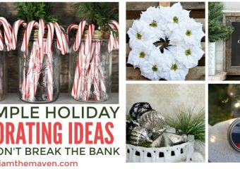 You'll love these affordable Holiday decorating ideas!