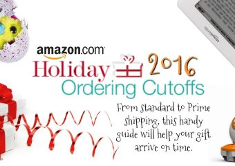 Amazon Holiday Shipping Deadline
