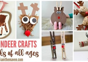 Is that Rudolf? Here are some fun reindeer crafts!