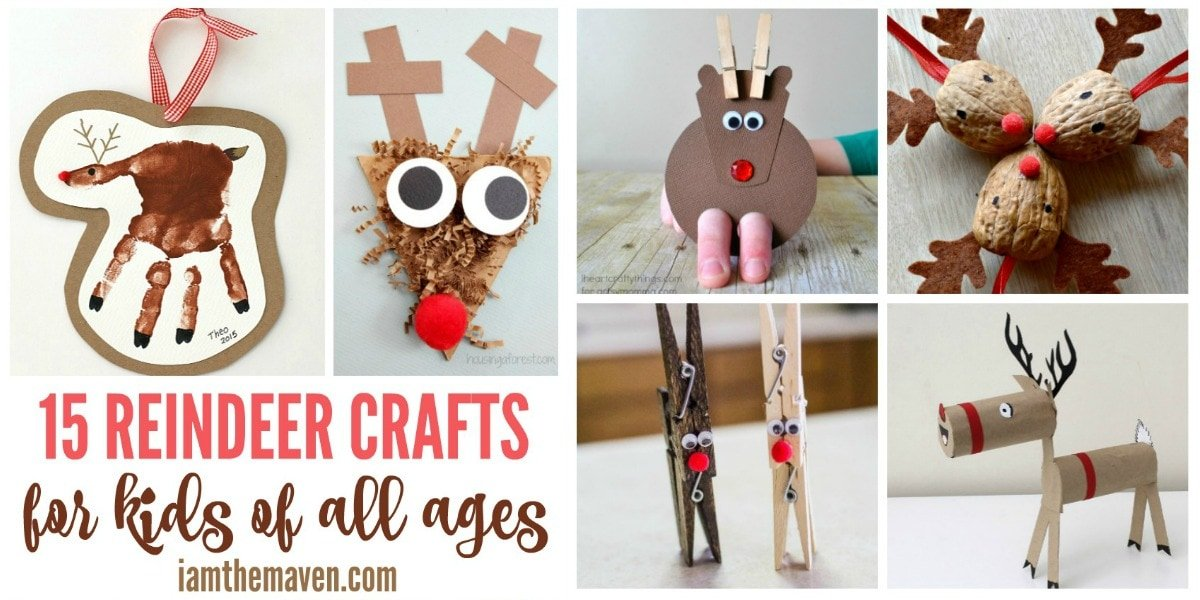 Cute reindeer crafts!