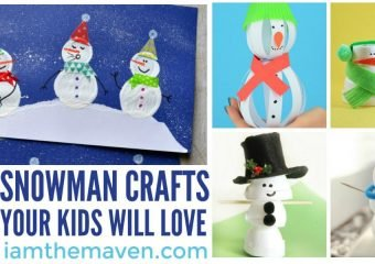 Fun snowman crafts!