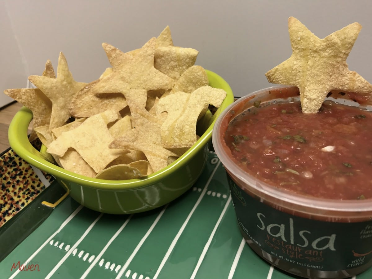 Kid Friendly Snacks: Tortilla Chips and Salsa