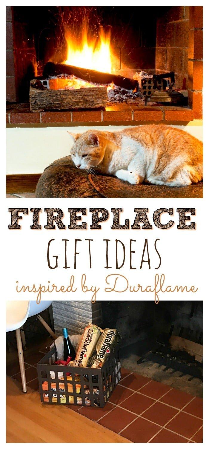 Fireplace gift ideas are quite popular in the fall and winter, but some can be given year round! Don't miss these ideas inspired by Duraflame.