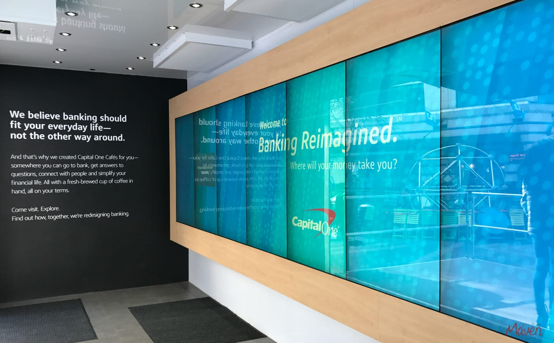 Capital One Banking Reimagined Tour Seattle