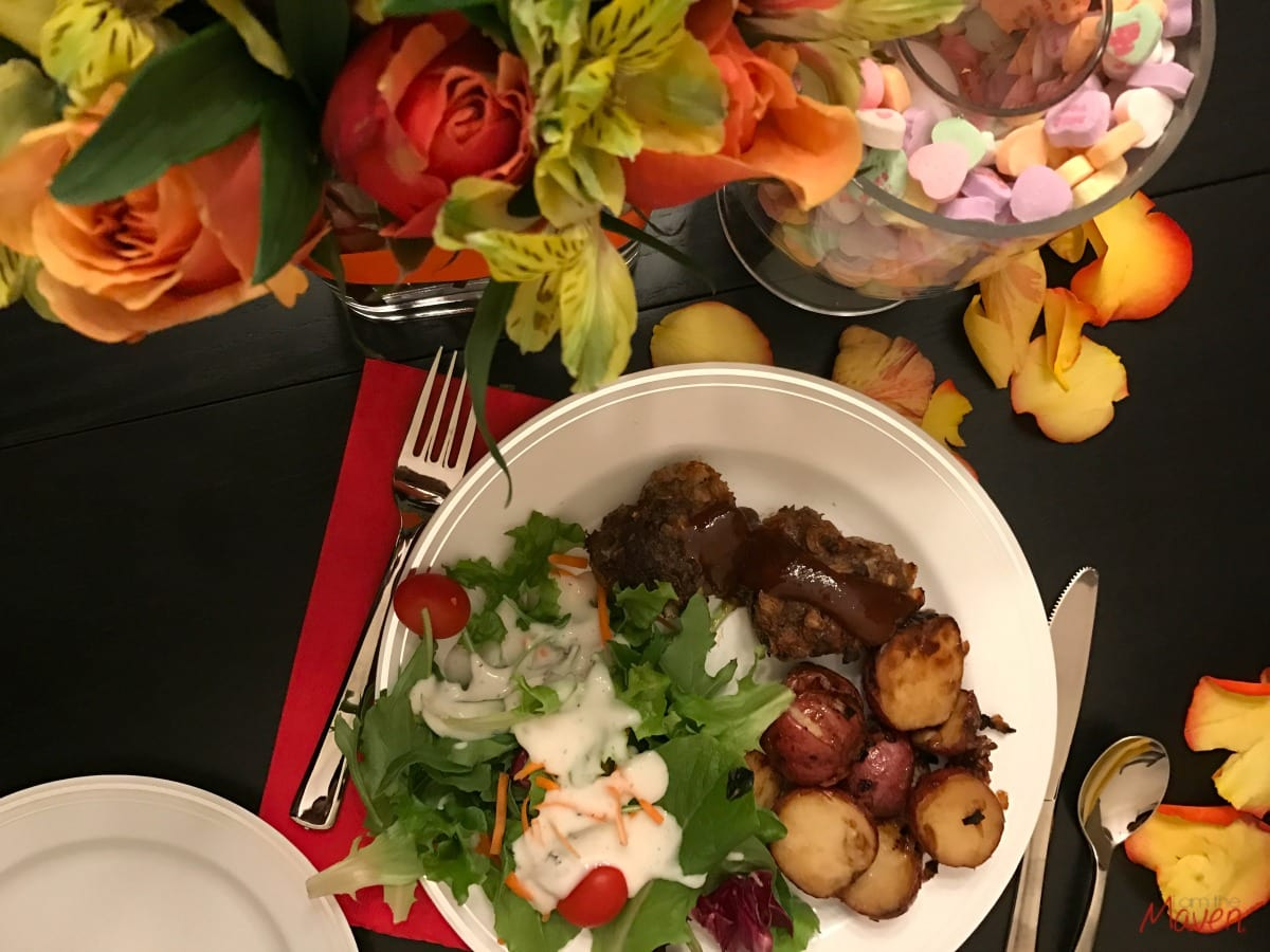 Make this easy valentine 39 s dinner tonight i am the maven for Simple valentines day dinner