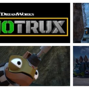 DinoTrux Season 4 premieres on Netflix today, Friday, 3/31