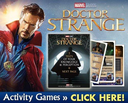 Doctor Strange Activities