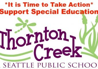 Take Action! Support Special Education at Thornton Creek!