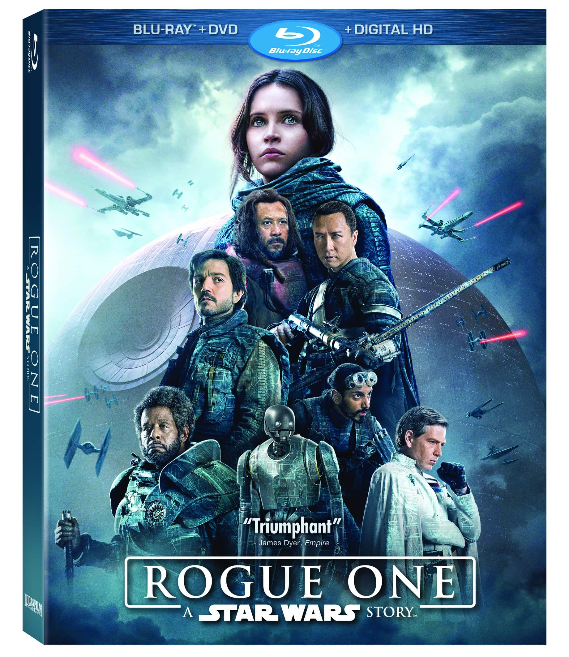 Rogue One on BluRay