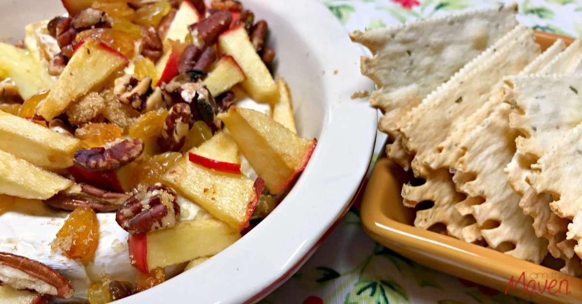 This easy baked brie can be made in 30 minutes!