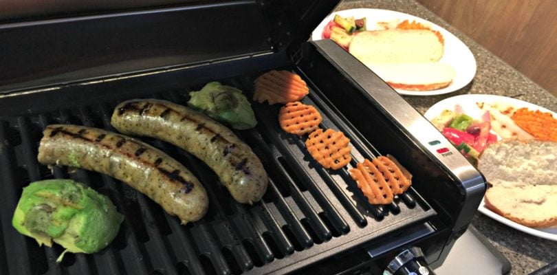 RV Living Grilling Tips the Hamilton Beach Indoor Searing Grill