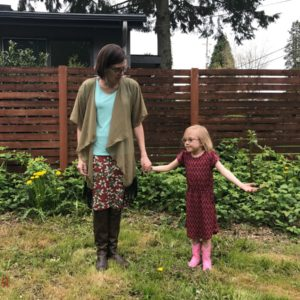 A letter to my daughter about feeling good in her clothes