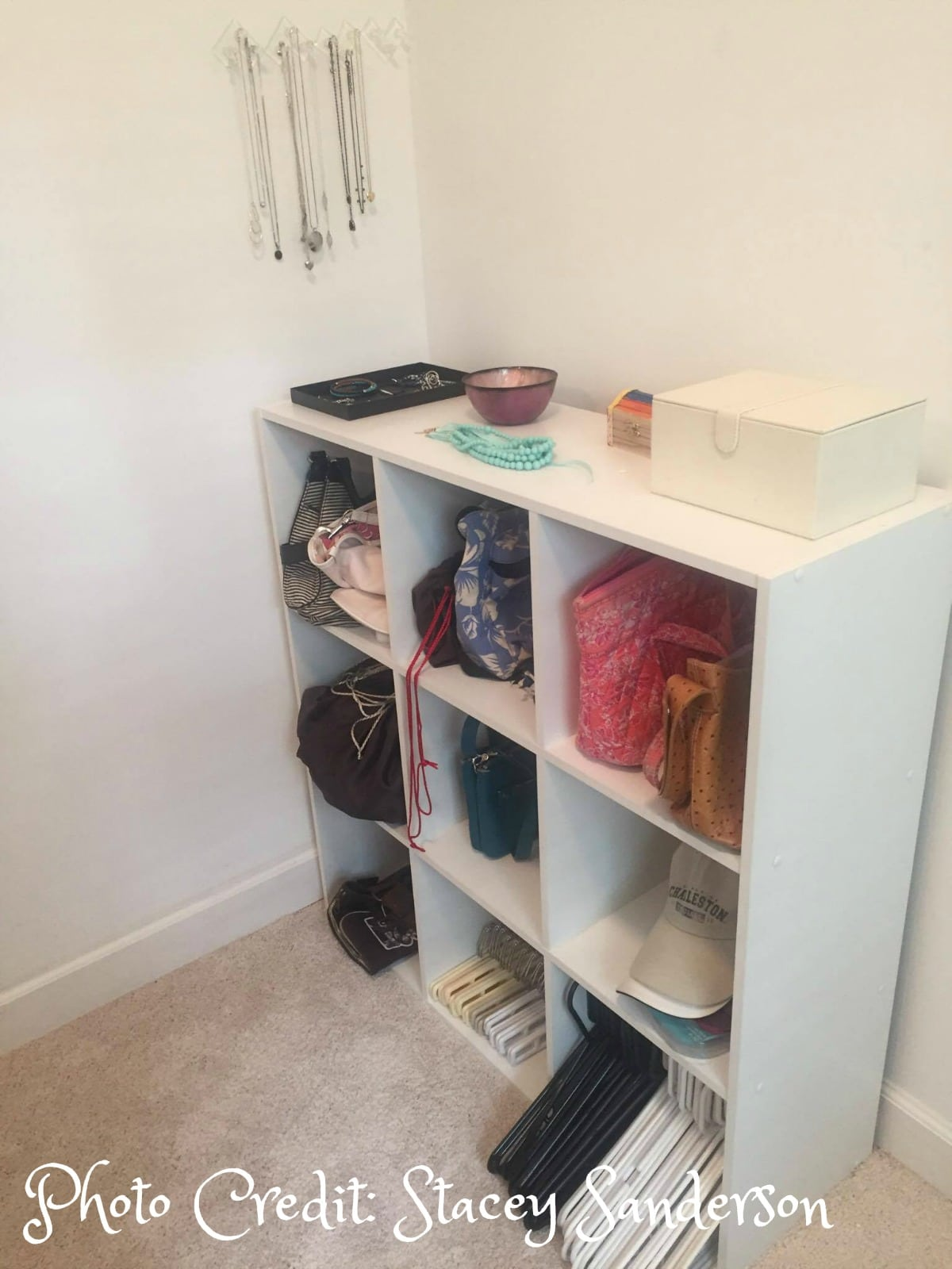 Cleaning your closet? Don't forget about purse organization?
