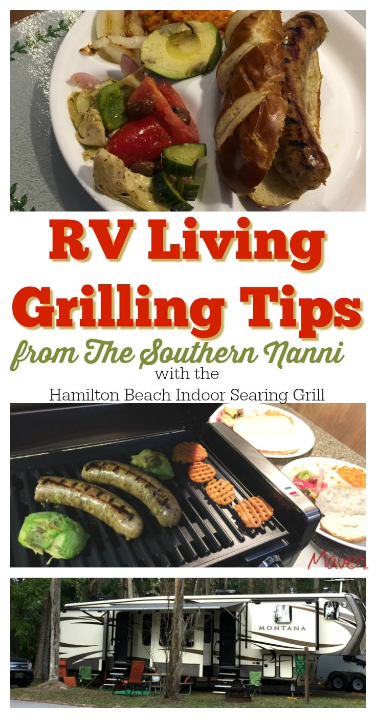 Don't miss these RV Living Grilling Tips from my mom, The Southern Nanni