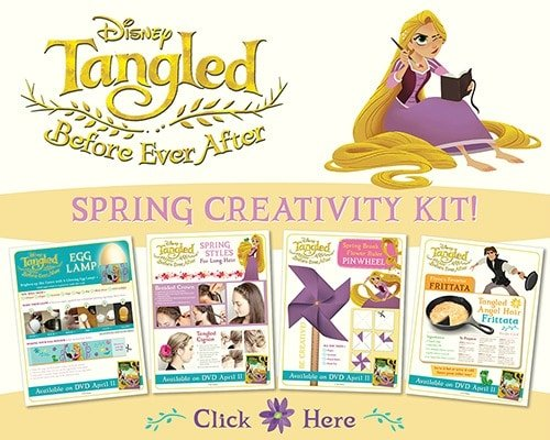 Tangled Before Ever After Activities