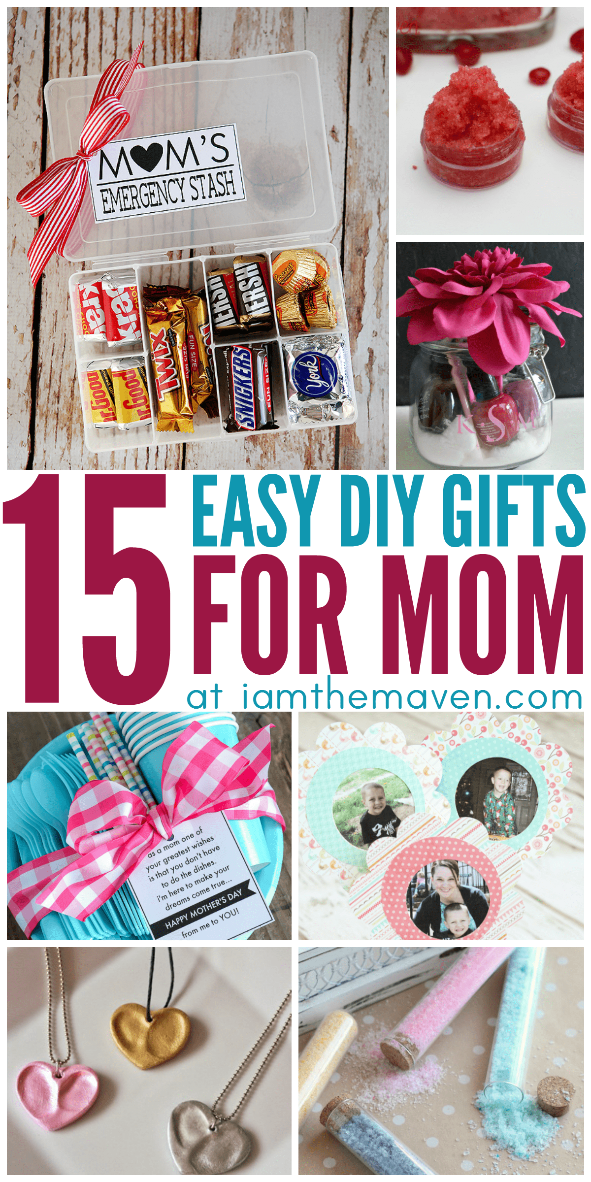 Mother's Day will be here before you know it. Instead of running to the mall for the perfect gift for mom, put the kids to work and get craft instead! These homemade gifts for mom are sure to please!