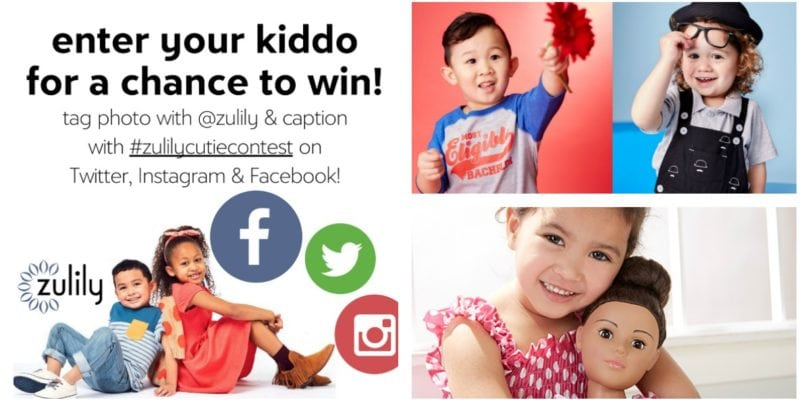 Is your Lucky Kiddo the next #zulilycutie??