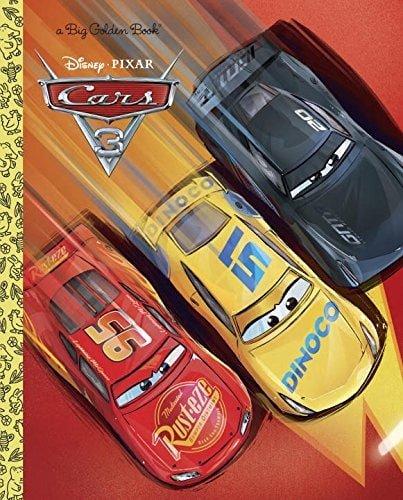 """""""Cars 3"""" Big Golden Book"""