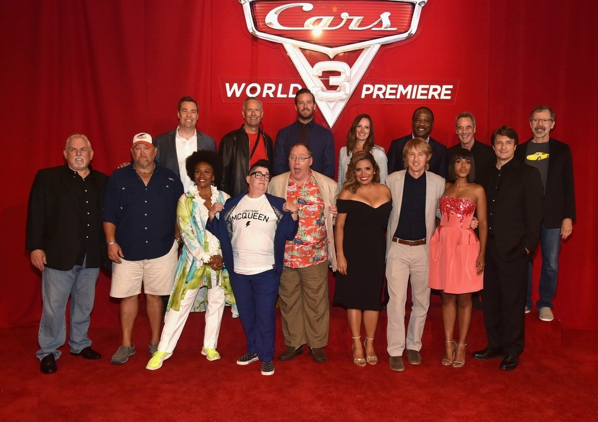 Cars 3 Red Carpet World Premiere Talent