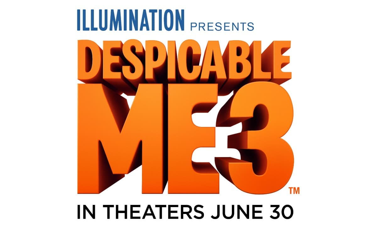 Despicable Me 3 in theaters June 30