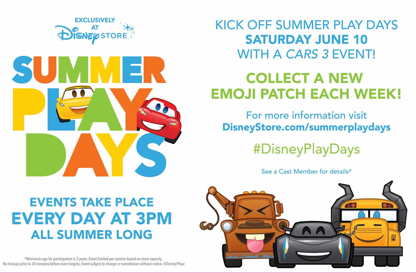 Disney Summer Play Days