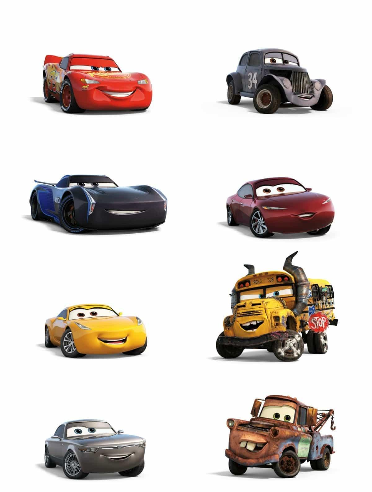 Talent Interviews Cars 3