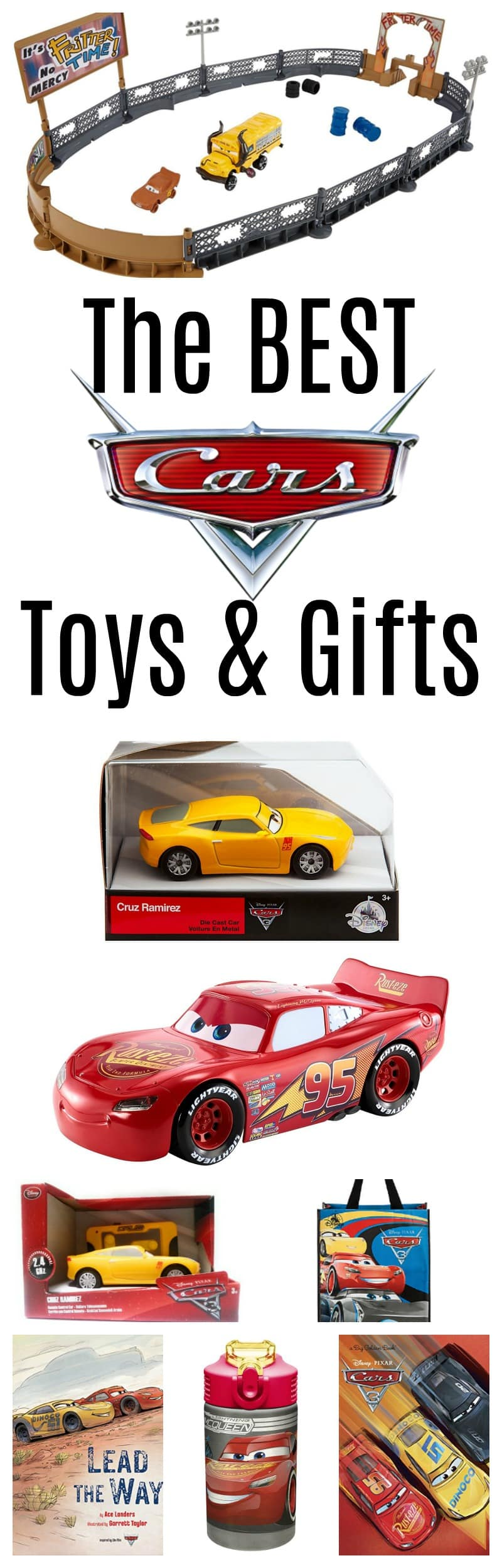 Do you want the BEST Cars 3 Toys? Check out this list of new Cars 3 Toys and Gifts!