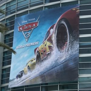 Cars 3 Red Carpet World Premiere Experience