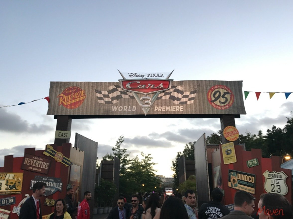 Cars Land at Premiere party