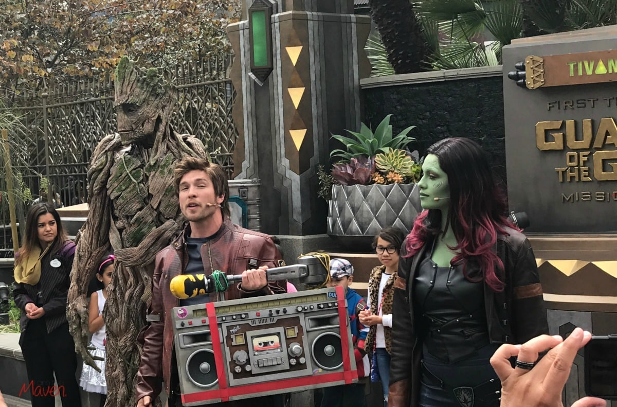 Guardians of the Galaxy Dance Off