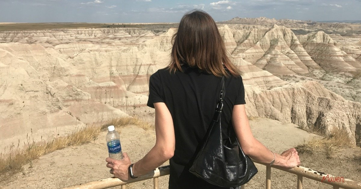 Don't forget water when you visit the BadLands