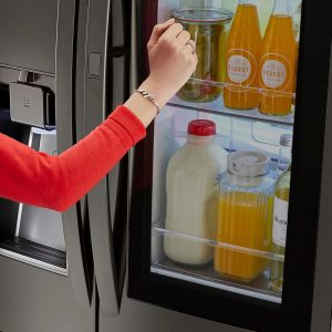 Is the LG InstaView your new refrigerator?