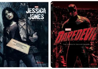 Jessica Jones & DareDevil Netflix Marvel Series Now Available on Blu-Ray!