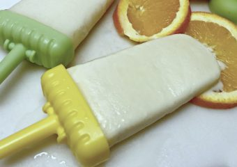 You will love these easy creamsicle pops!