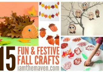 You'll love these easy fall crafts for kids!