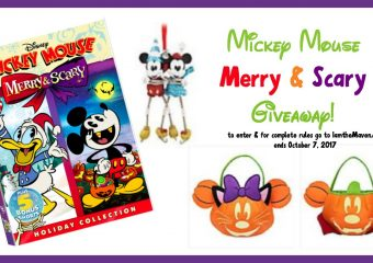 Mickey Mouse's Merry & Scary now on DVD + GIVEAWAY!