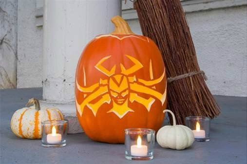 Hela Inspired Pumpkin