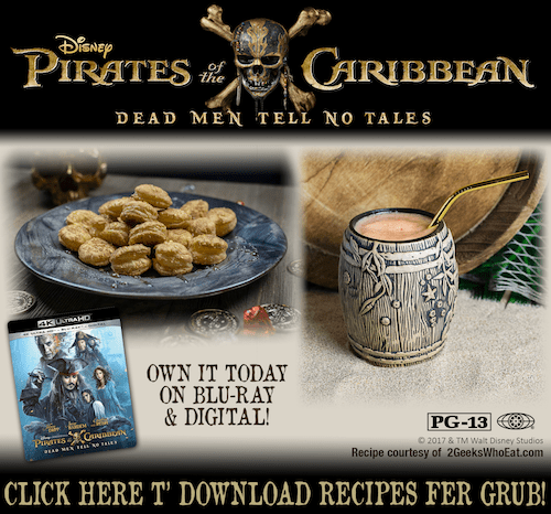 pirate themed recipes