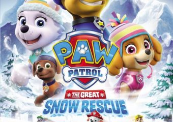 PAW Patrol: The Great Snow Rescue on DVD!