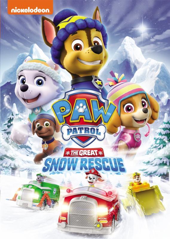 paw patrol great snow rescue
