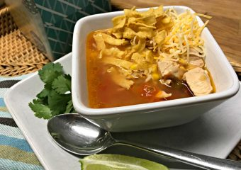 Chicken Tortilla Soup Helps You Fight Cold and Coughs