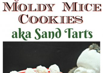 Moldy Mice cookies are the best holiday cookie!