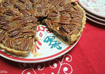 Make this EASY Chocolate Pecan Tart