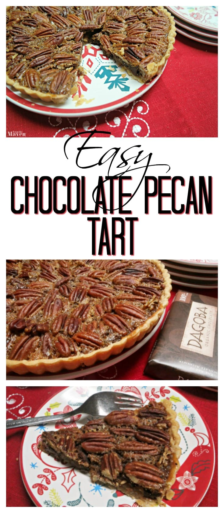 This chocolate pecan tart is simple to make and sure to impress your guests. Serve your chocolate tart plain or to make extra decadent, with ice cream!