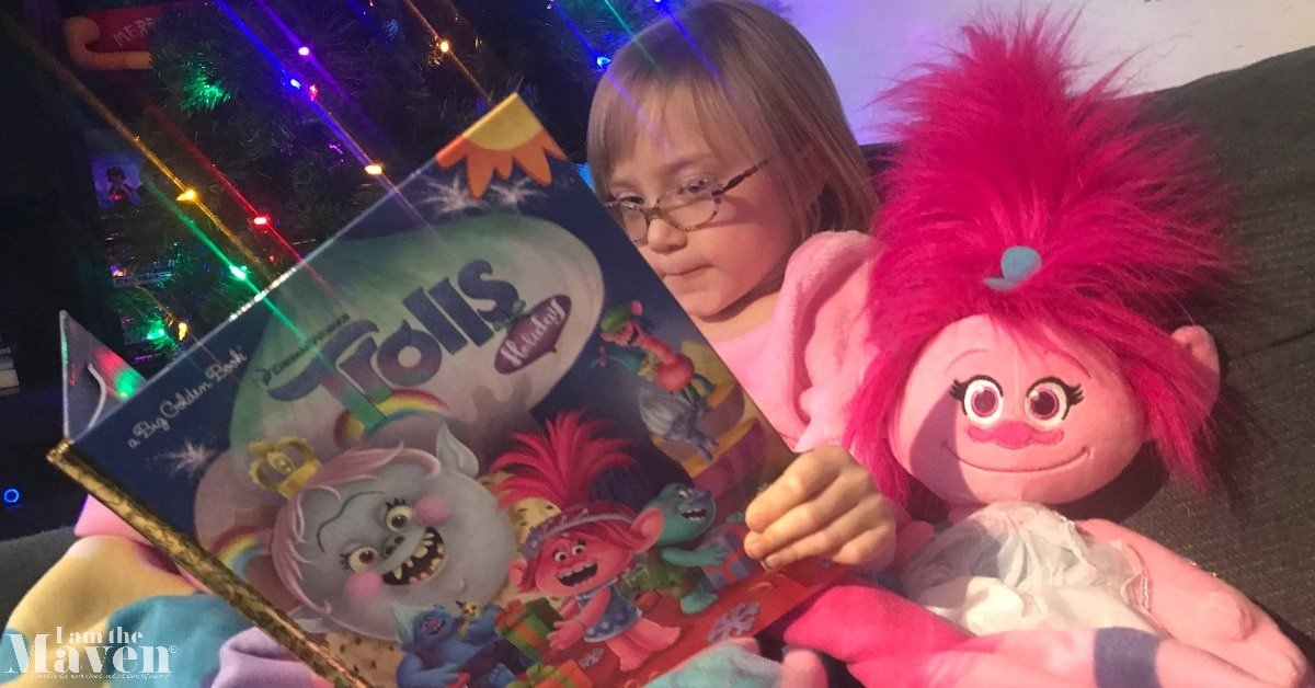 trolls holiday book poppy christmas